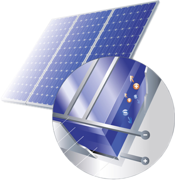 Fotovoltaik-Modul-Zelle